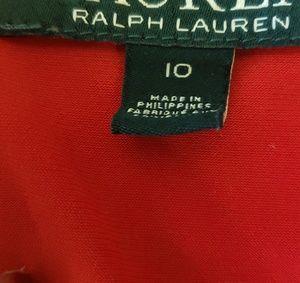 Lauren Ralph Lauren Dresses - Sec'y red Ralph Lauren